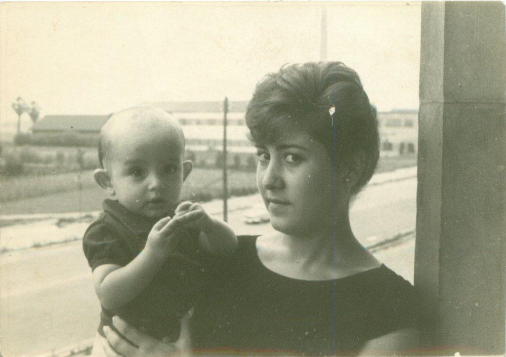 1960. Pedro y Mari