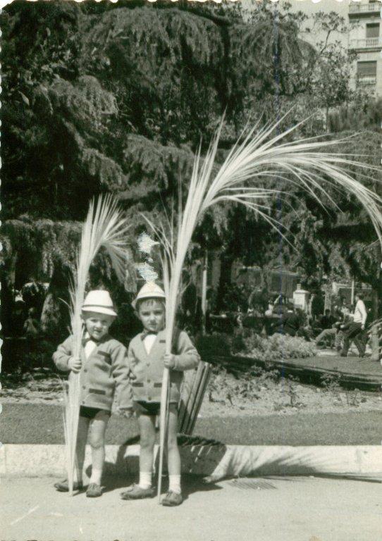 1965. Xavi y Pedro