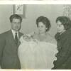 1960. Antonio, Xavi, Candy y Rosita