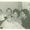 1960. Pedro, Xavi, Joan, Candy y Rosita