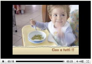 Zoe come pasta italiana